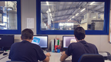 Specialised staff designs and produces injection mould for all kind of thermoplastics