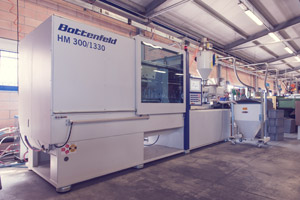 Injection moulding machine Battenfeld HM300