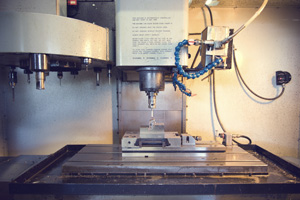 Renishaw: machine tool probe used on CNC Hass VF2